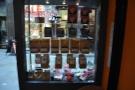 Meanwhile, there's an extensive retail selection of beans and coffee kit in the window...