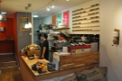 Back on the ground floor and down to business. The counter is on the right...