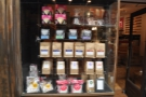 I liked the window display on the left: all the retail bags of coffee.
