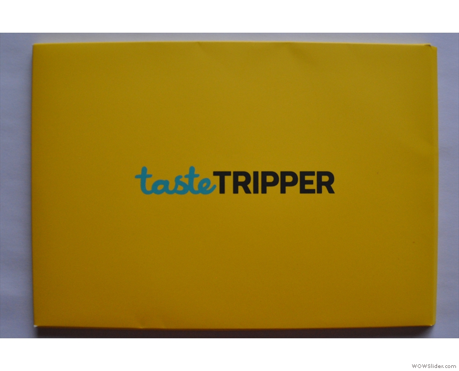 If you're looking for an alternative to books, how about a Taste Tripper Explorer Pack?