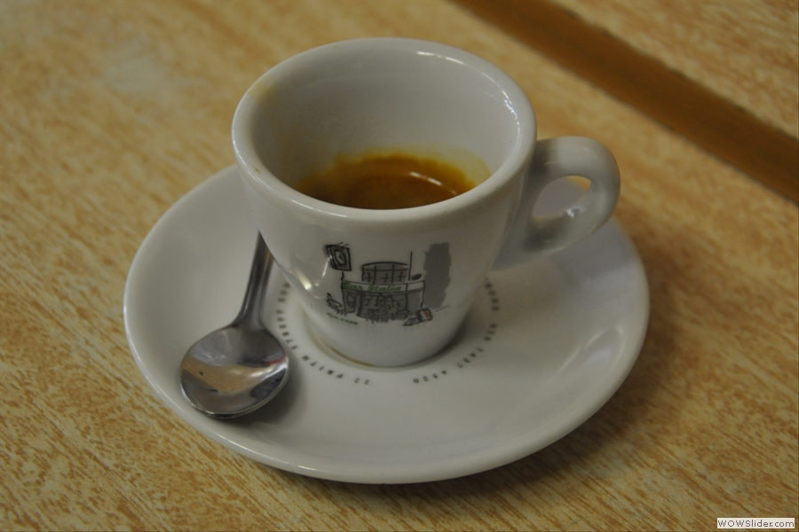 And the outcome... London's best espresso?