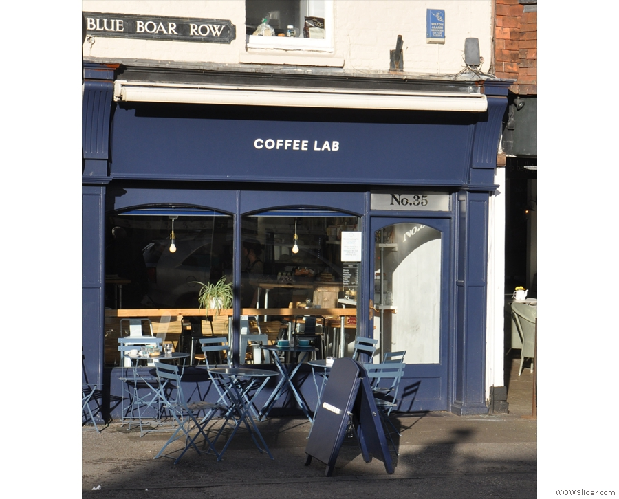 Just to the north of Salisbury's compact centre, on the sunny side of Blue Boar Row...