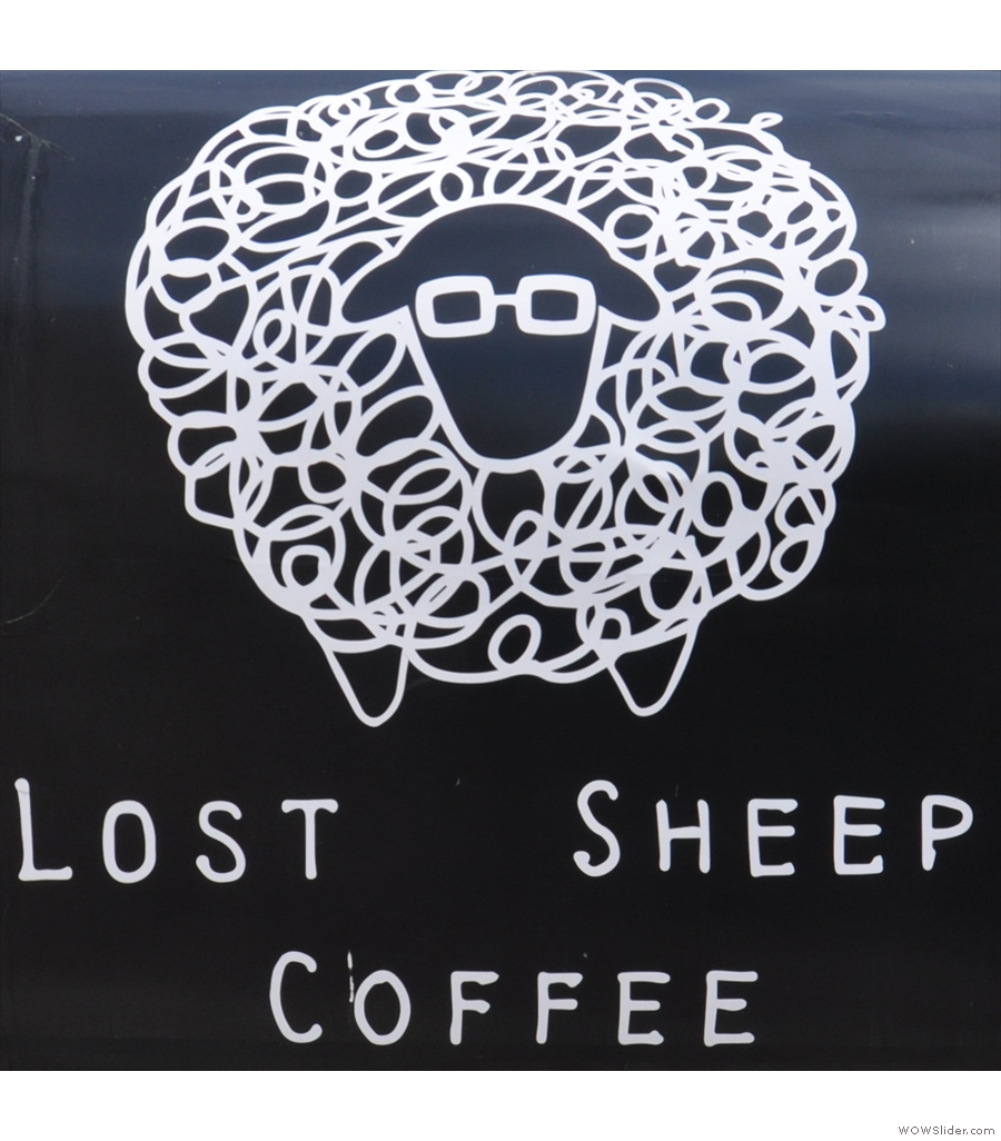 Lost Sheep Coffee, a (now larger) coffee pod down by the bus station in Canterbury.