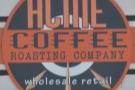 Acme Coffee Roasting Company, hidden away in a parking lot in Seaside, California.