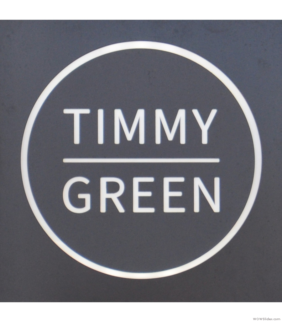 Timmy Green, increasing the coffee opportunities around Victoria Station.