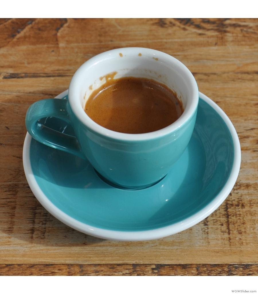 Tincan Coffee Co, North St, where I had a Clifton Coffee Roasters single-origin Ethiopian.