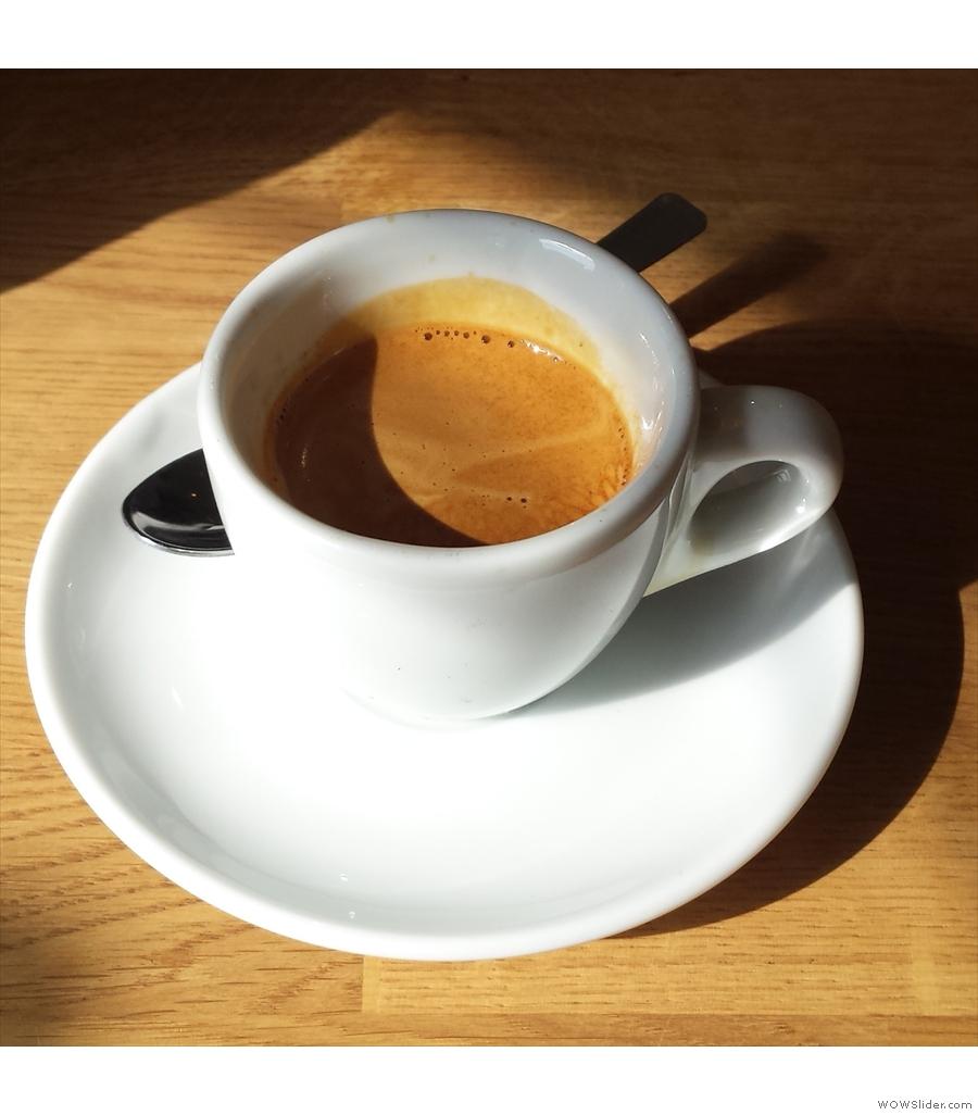 Canopy Coffee, forSquare Mile's Mormora single-origin from Ethiopia's Guji region.