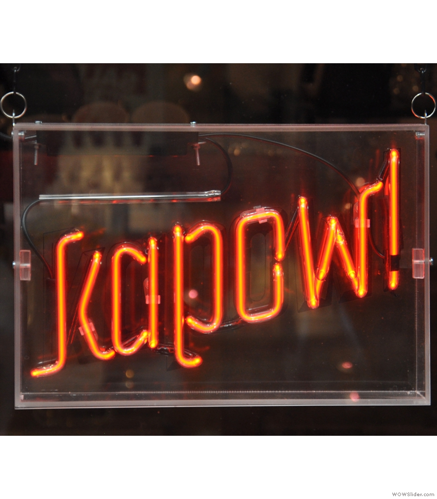 Kapow Coffee, Thornton's Arcade, another spread over multiple floors, this time in Leeds.