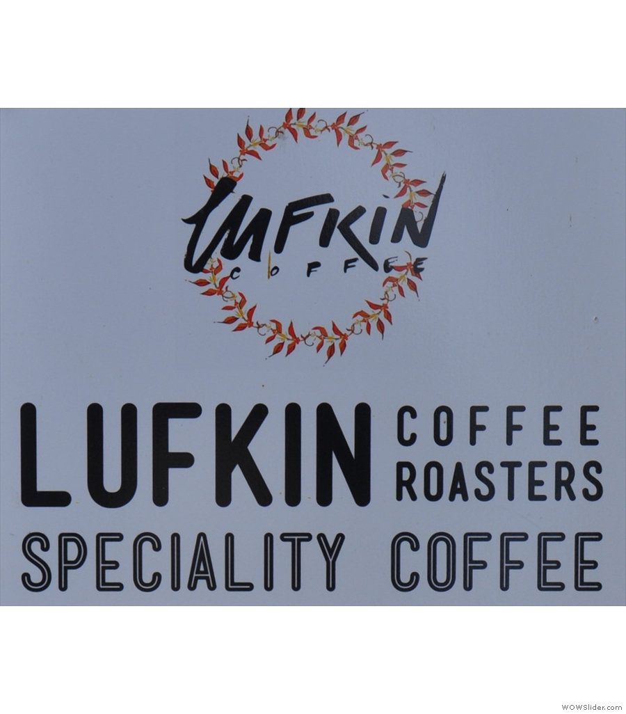 Lufkin Coffee, another case of love at first sight in a residential part of Cardiff.