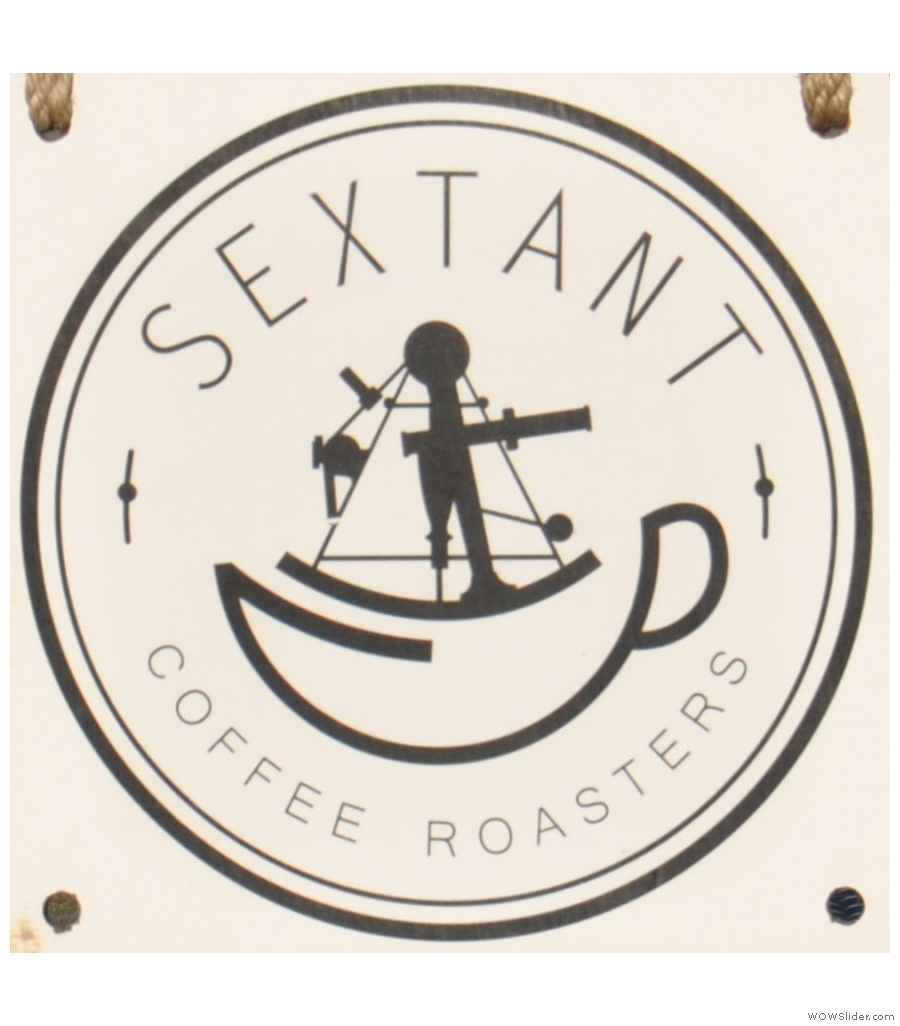 Sextant Coffee Roasters, more glorious old industrial architecture in San Francisco.