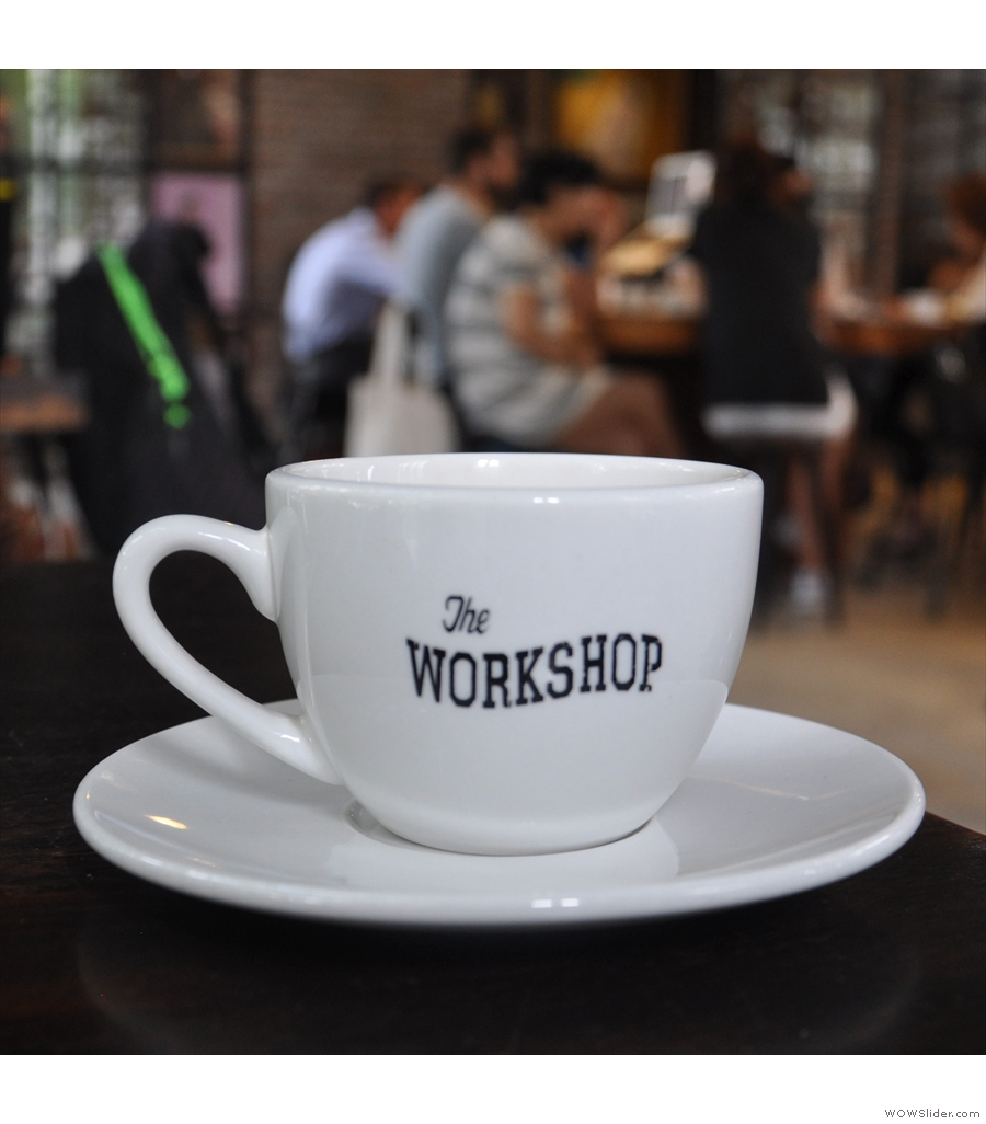 The Workshop Coffee, nailing the hipster look in Ho Chi Minh City.