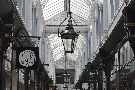 The marvellous Morgan Arcade, home of many fine shops...
