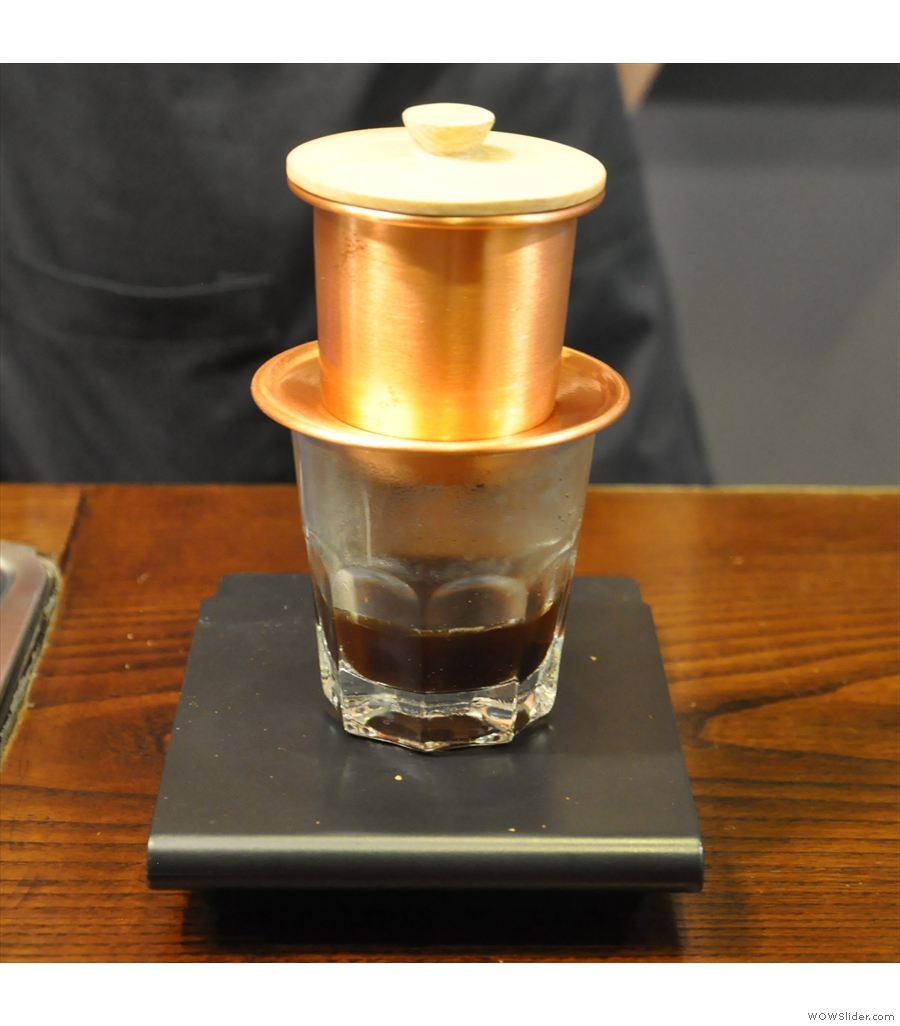 The Caffinet, a marriage of western coffee culture and Vietnamese-grown coffee.