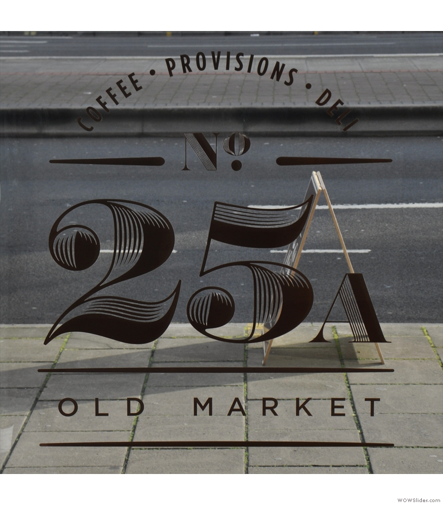 25A Old Market, the little sibling of No 12 Easton, flying the flag for Bristol.