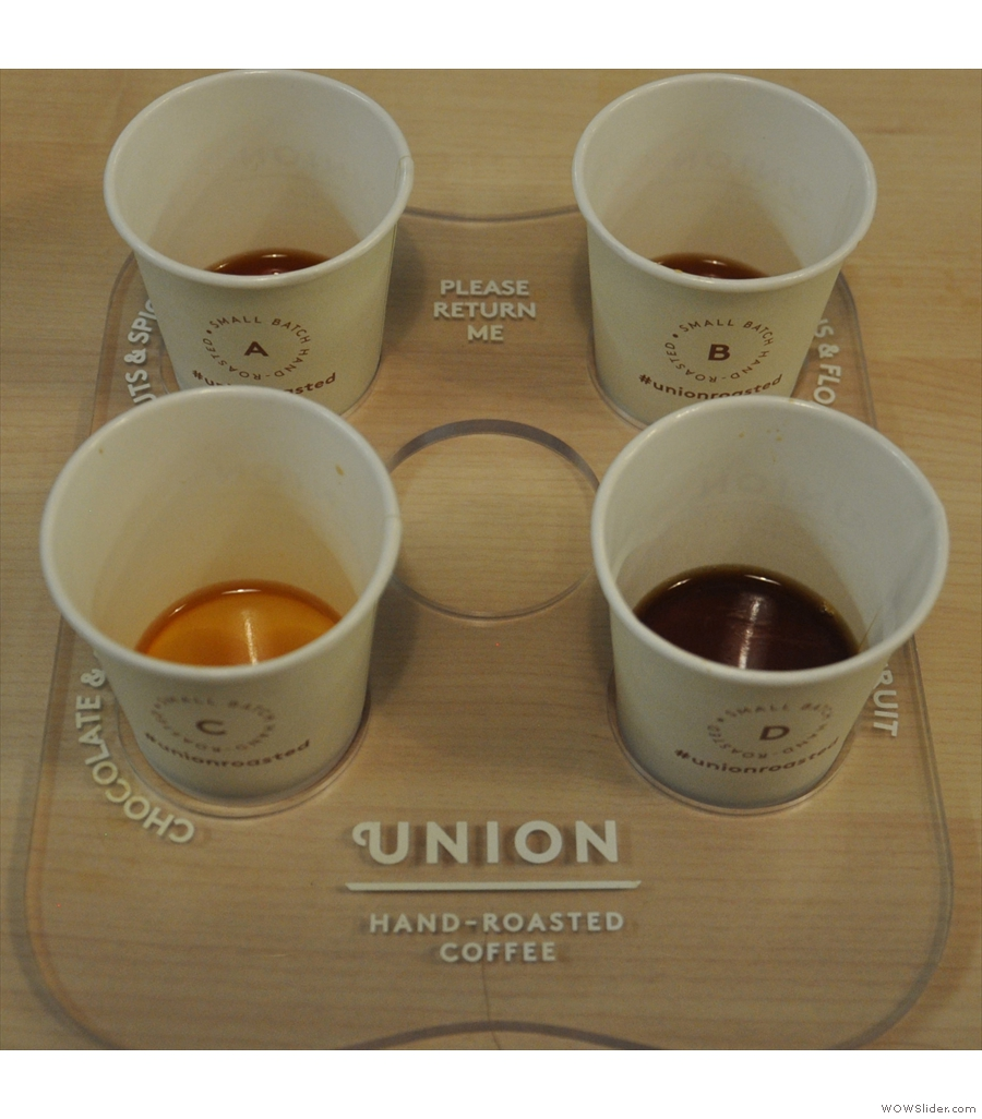 Ever popular, it's the London Coffee Festival.