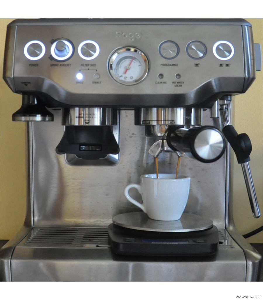 Another popular post was my piece on the Sage Barista Express espresso machine.