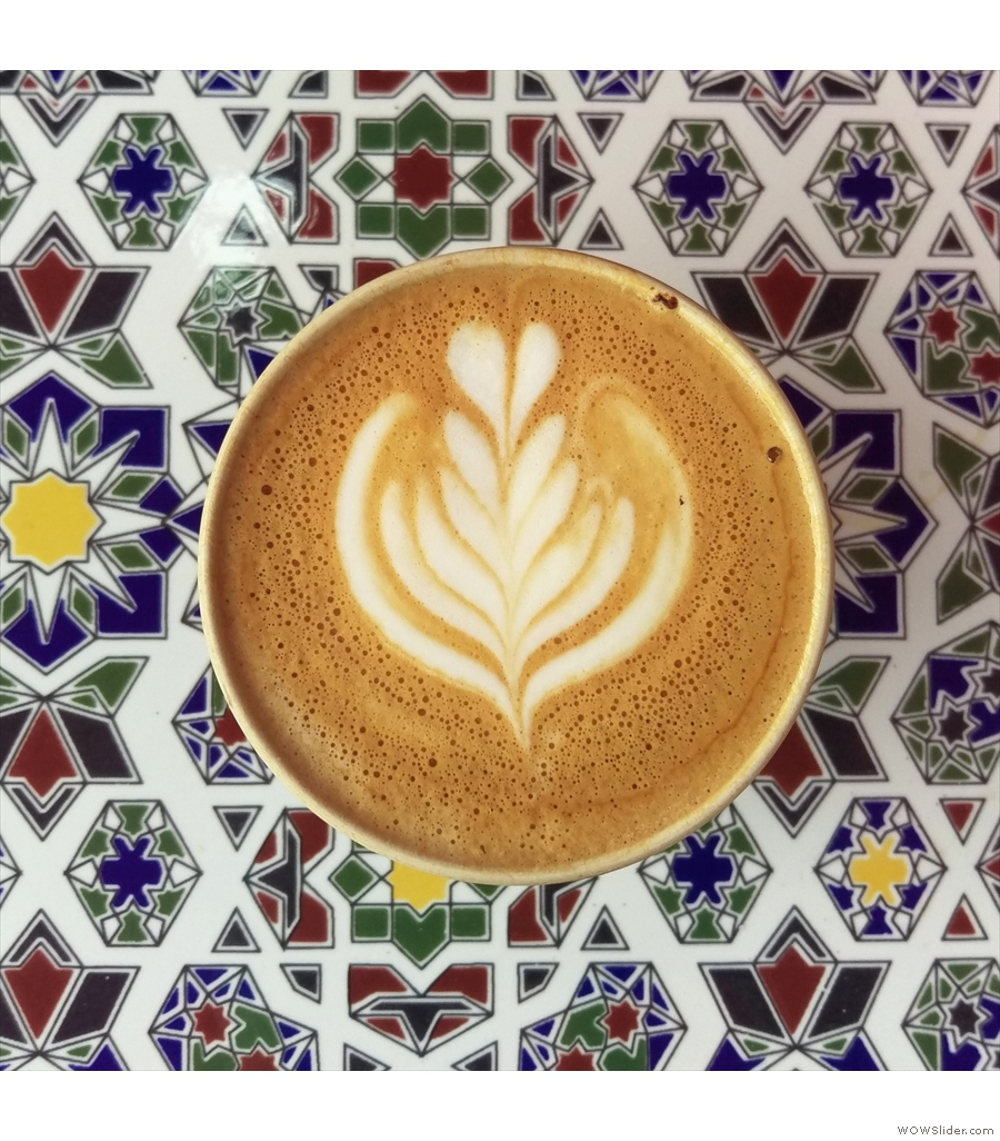 Lever & Bloom, serving up this year's Best Takeaway Coffee.
