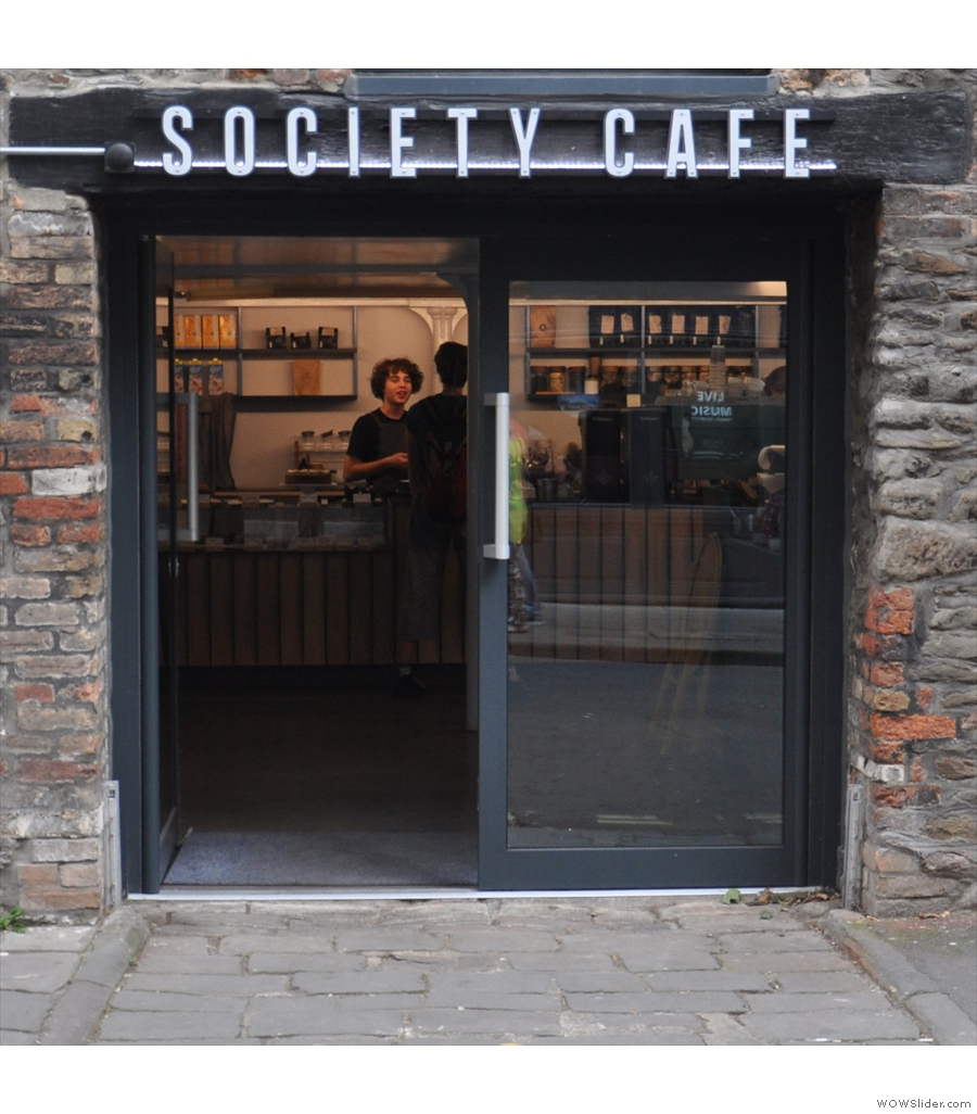 Society Cafe, Bristol, winner of the Best Physical Space Award.