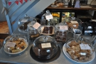 There is cake galore on offer, from Cakesmiths in Bristol.