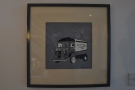 This picture, downstairs, is a permanent feature: it's Providero's old Citroen van.