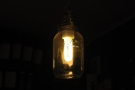 And that's it. All apart from the obligatory light-fitting shot: exposed bulb in a jam jar.