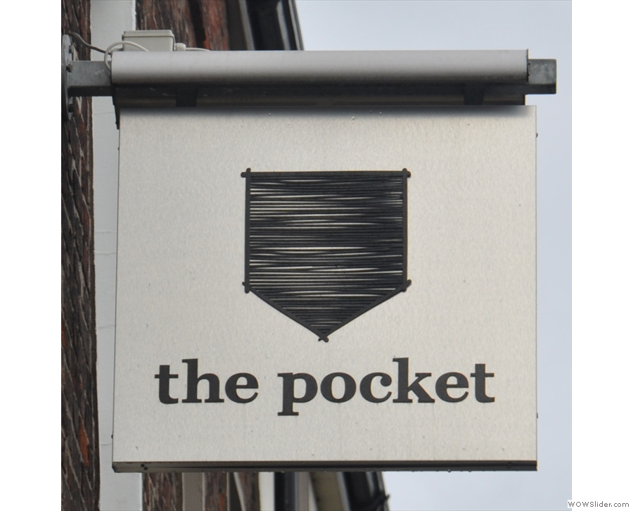 In case you're wonderinng, this is The Pocket, by the way. Neat logo.