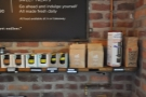 A small retail section includes reusable cups and retail bags from Dublin's Cloud Picker.