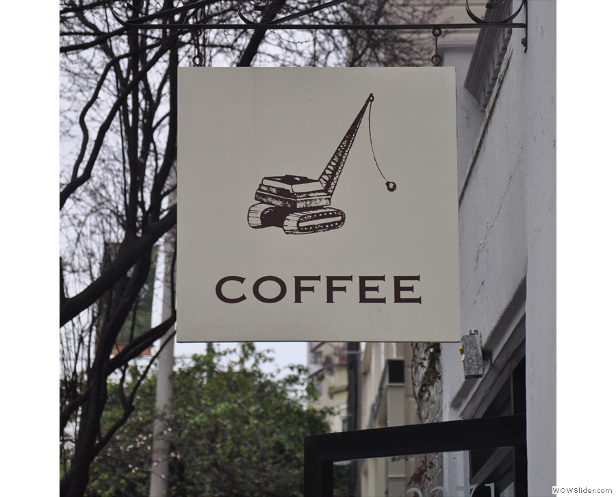 It's Wrecking Ball, by the way, another San Francisco roaster/coffee shop!
