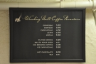 The wonderfully-concise menu hangs conveniently on the wall behind the till.