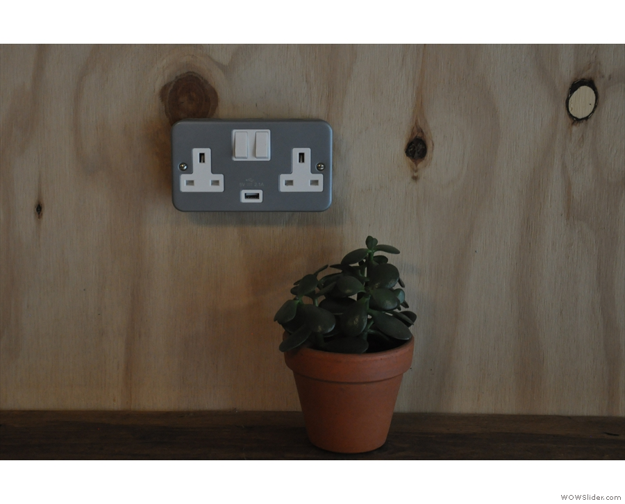 There are a few neat features, including the USB socket on the power outlets.