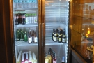 There's also a fridge back here, with soft drinks and some craft beer.