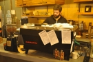 However, I wanted espresso. This is Daniel, the manager...