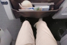 There's not a hure amount of legroom, but it will do.