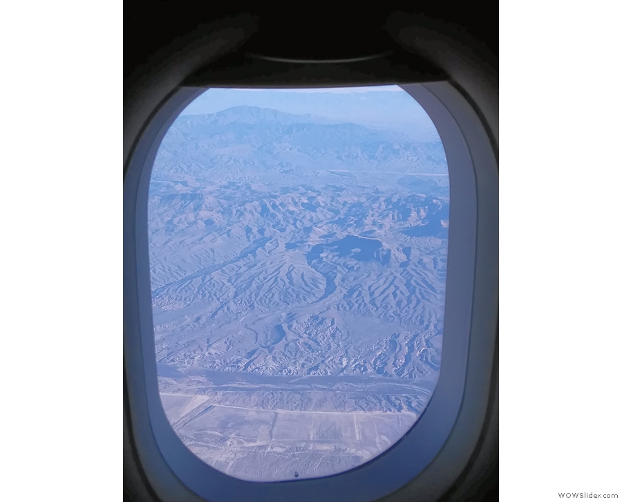 However, as we approached Phoenix... Look! Mountains!
