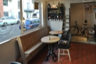 A view back towards the door, where you'll find the first of the seating...