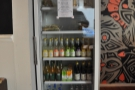 Milk Teeth is about more than just coffee. There's a selection of soft drinks in the chiller...