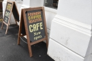 ... for the ground floor is also home to the Foundry Coffee Roasters cafe!