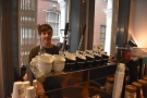 I decided that I wanted to try the espresso from the Londinium lever machine.