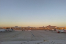 A view I'm not sure I'll ever tire of: the mountains north of Phoenix Sky Harbor Airport.