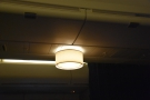 Talking of lights, I did appreciate this light-fitting in the main cabin. Again, it's new to me.
