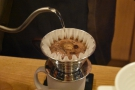 Cafe Grumpy employs an interesting technique with its Kalita Wave filters.