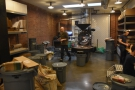 The roaster is in action most days, but the roastery is only open to the public on Sundays.