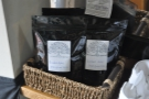 The coffee itself, a bespoke blend from Grumpy Mule.