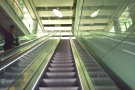 ... before ascending from the bowels of the terminal...