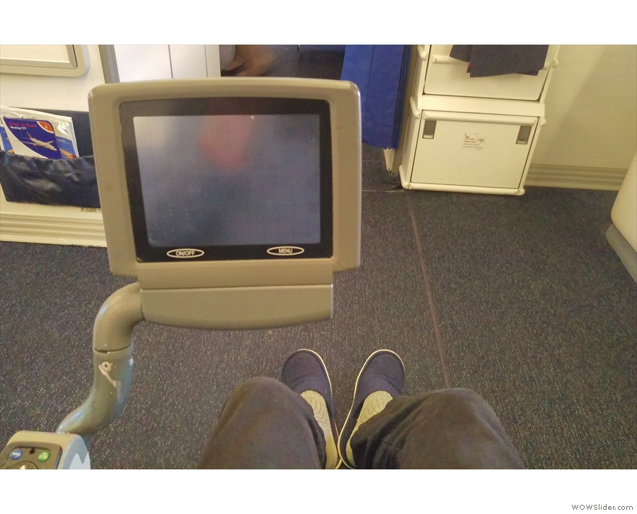 It's an old plane though. This screen looks much bigger in the picture than it was.