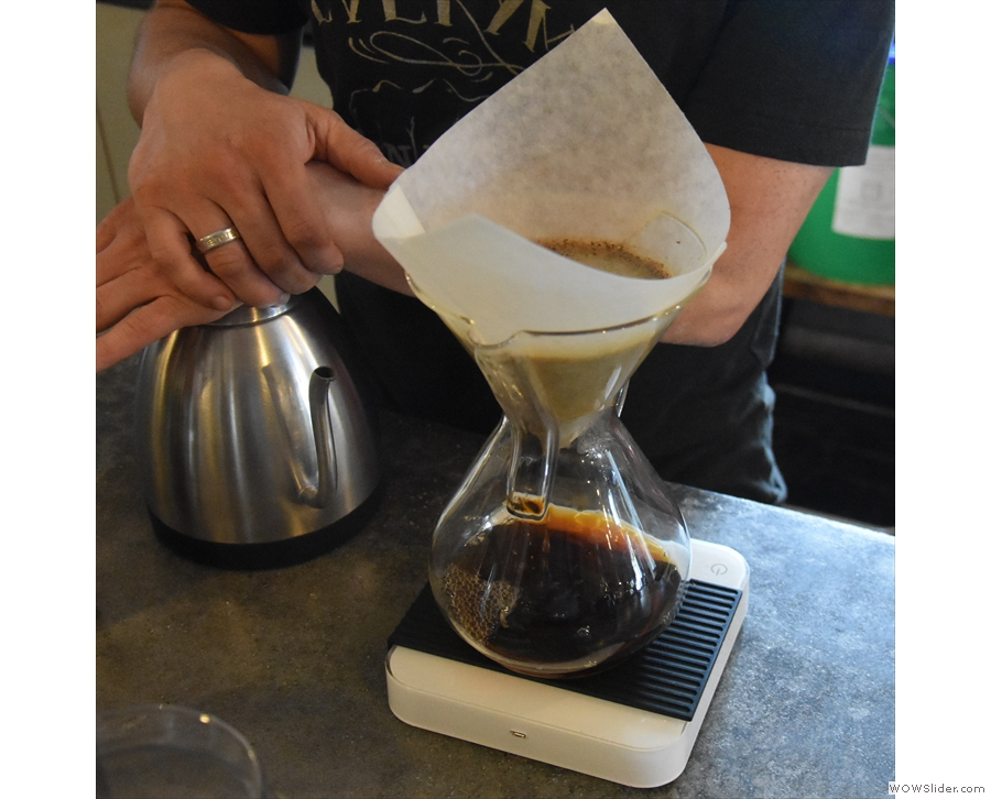 This pretty much goes against everything I've been taught about making pour-over...