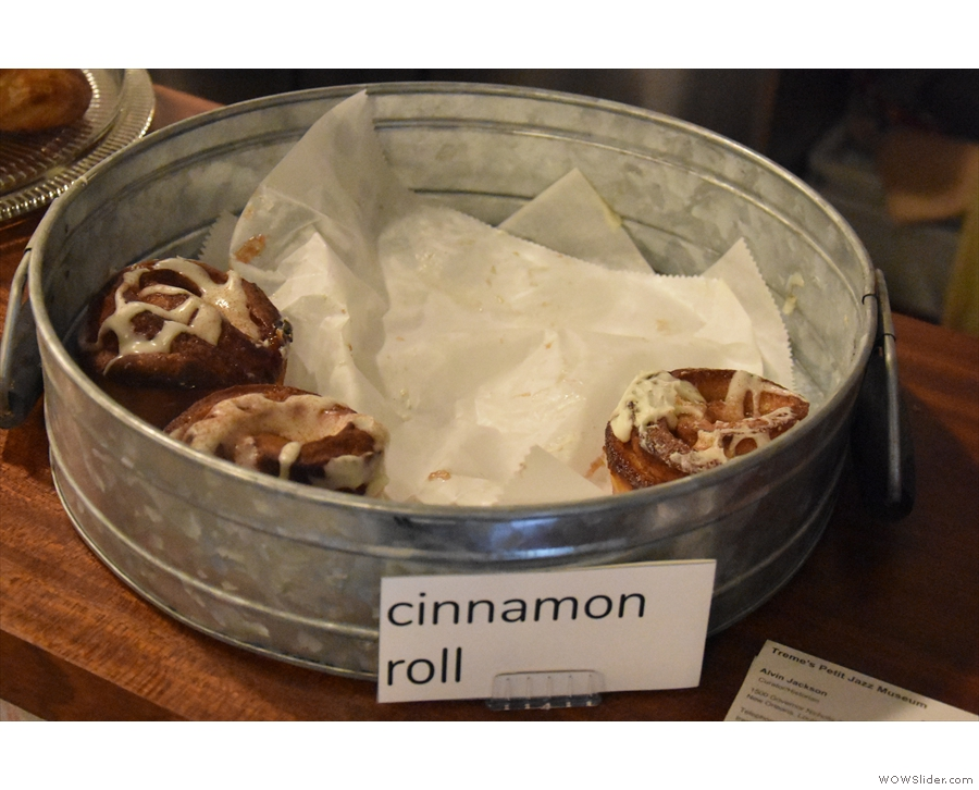 I remember the cinnamon rolls too!