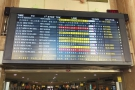 The departure board, again from 2016, though I'm catching the same train as I was then!