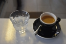 ... which I followed up with a shot of the single-origin  espresso whcih was awesome.