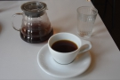 ... ordering a Clever Dripper of the washed Ethiopian single-origin.